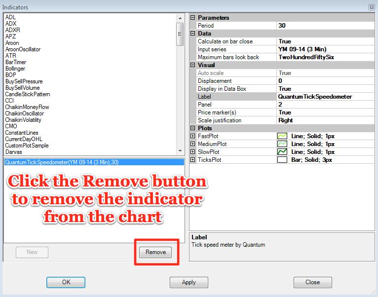 Remove Tickspeedometer
