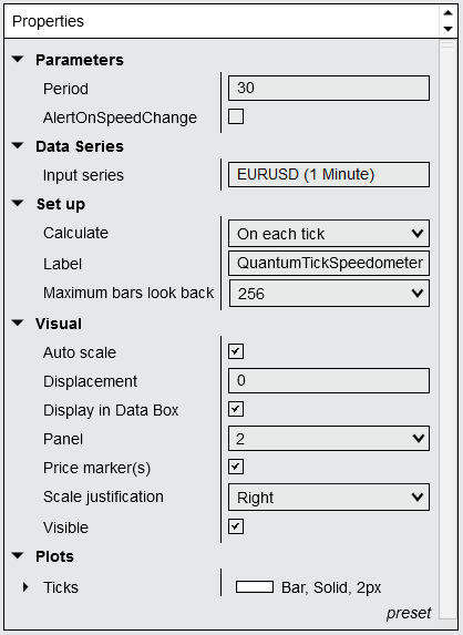 Installing and Configuring - Tick Speedometer for NinjaTrader 8